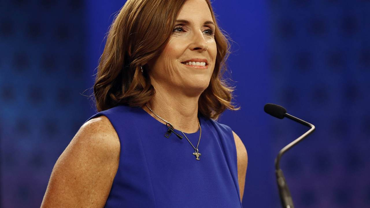 McSally accuses Sinema of backing