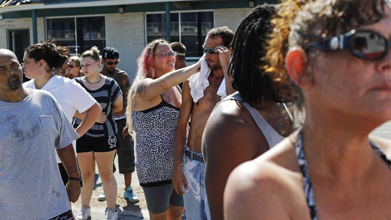 Life is rough at hurricane-ravaged motel of last resort - Breaking News