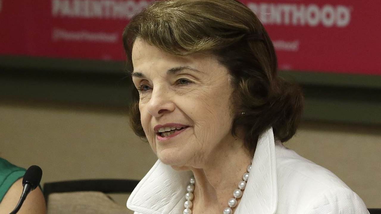 Feinstein takes heat over Trump, immigration in only debate - Breaking News
