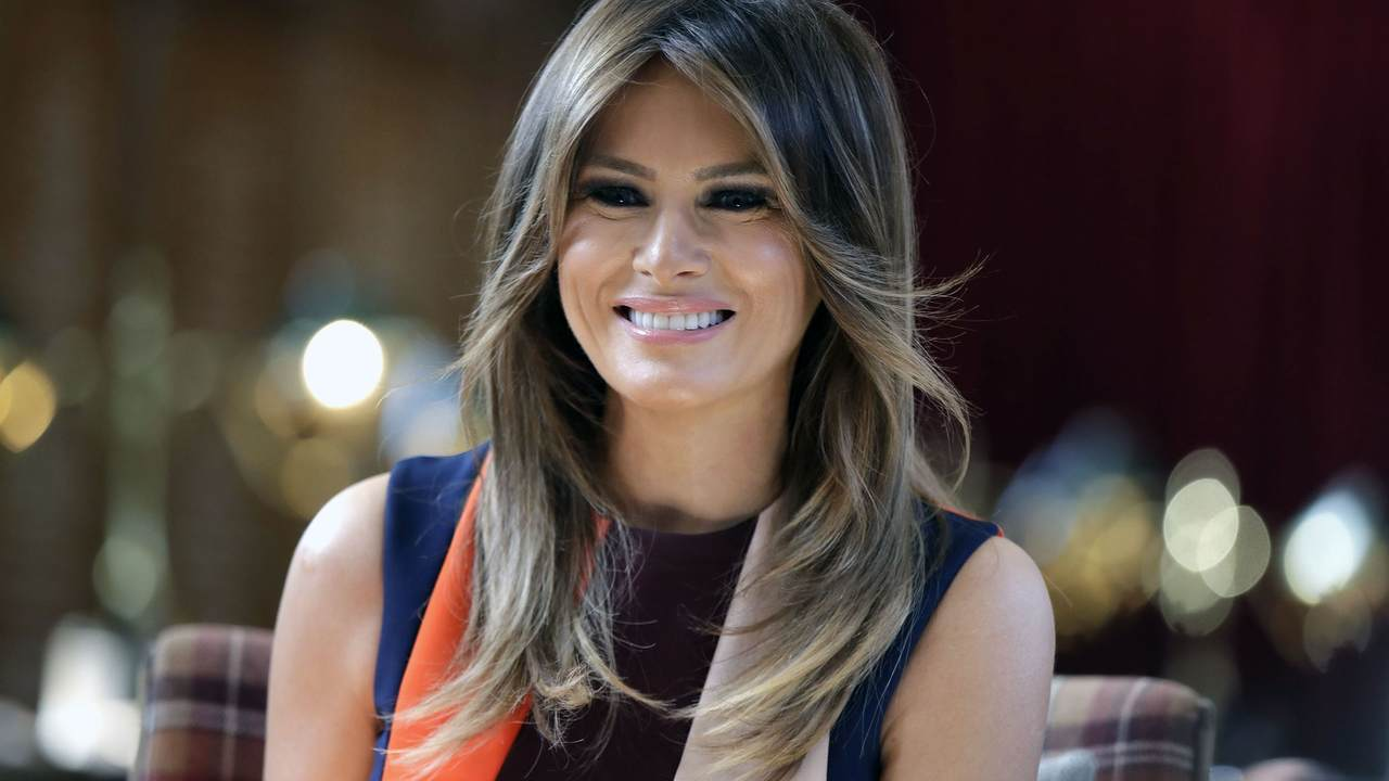 The Latest: First lady sees newborn victims of opioid crisis - Breaking News