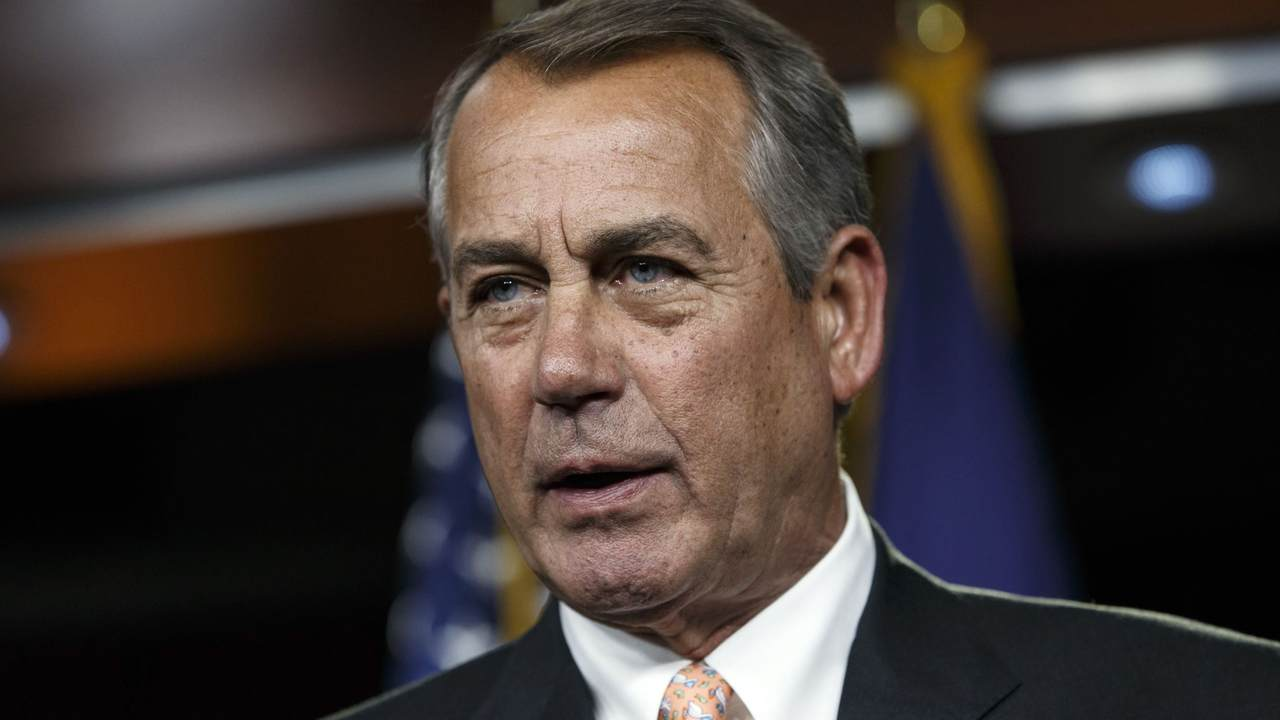 Boehner Comes Out of the Shadows to Back Anti-Trump Republican Incumbent