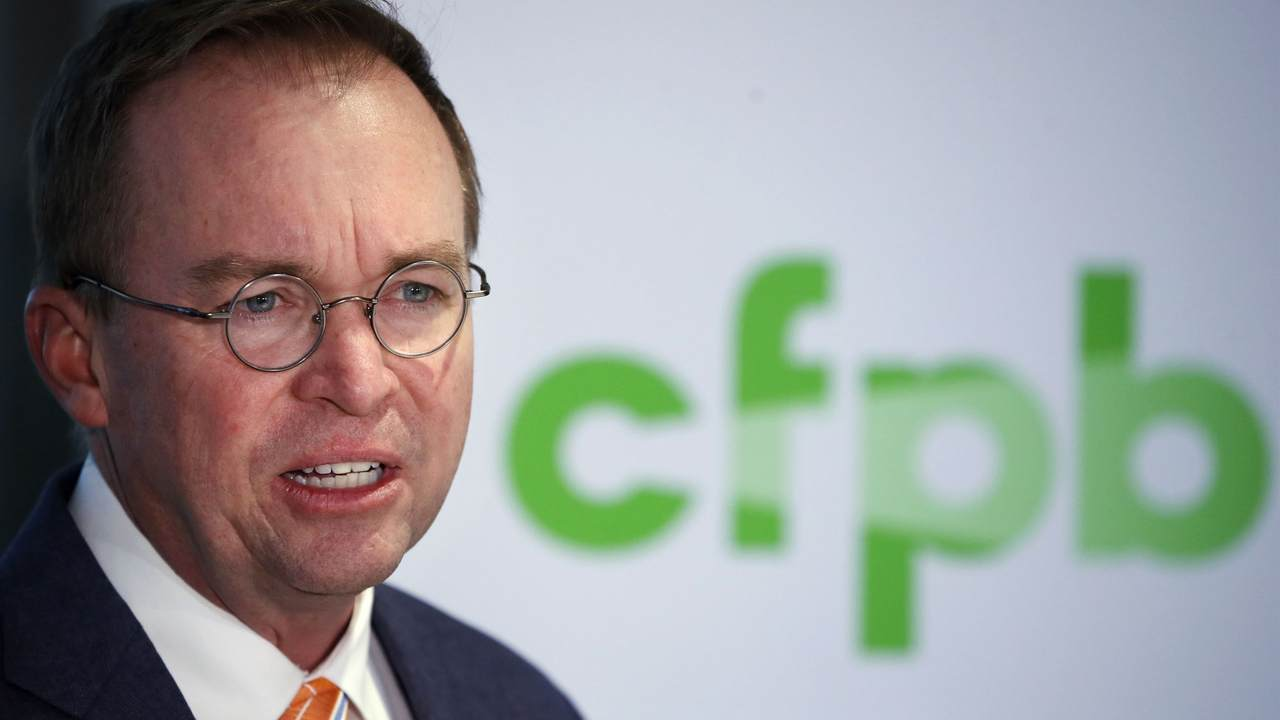 you're fired: mick mulvaney fires entire cfpb advisory board