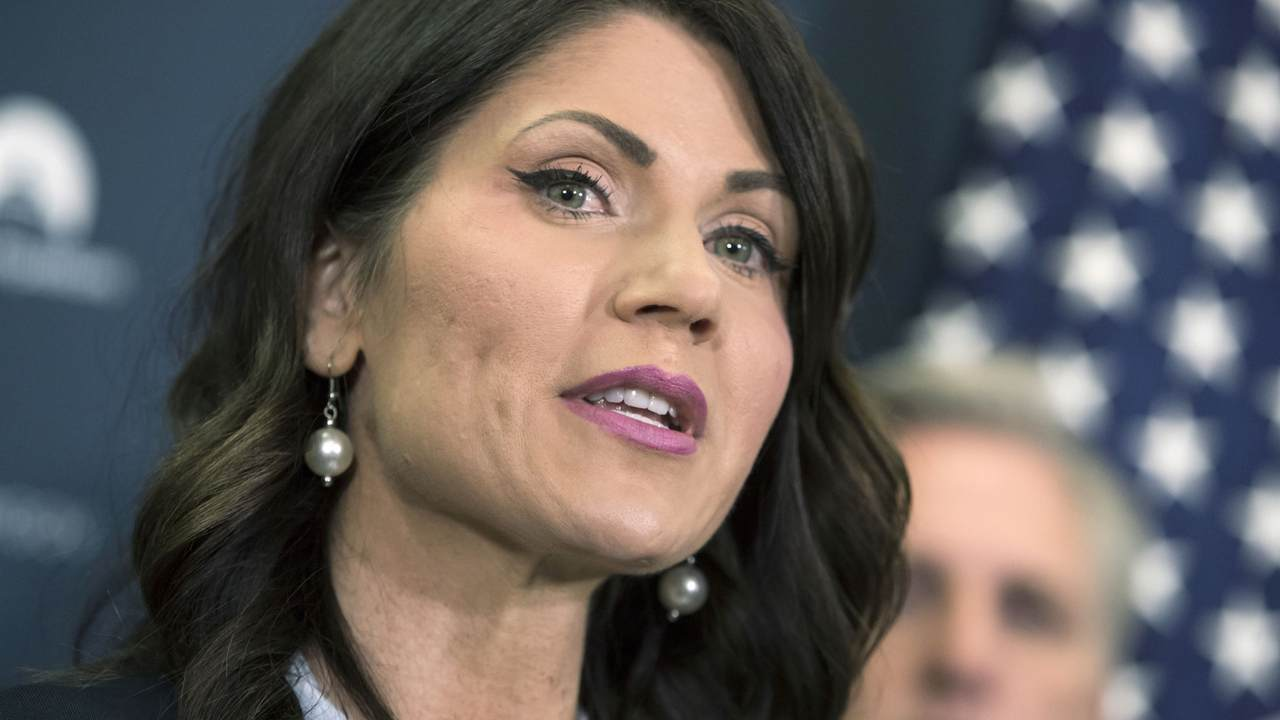 Gov. Noem Posts COVID-19 'Graphs the Media Won't Share with You'