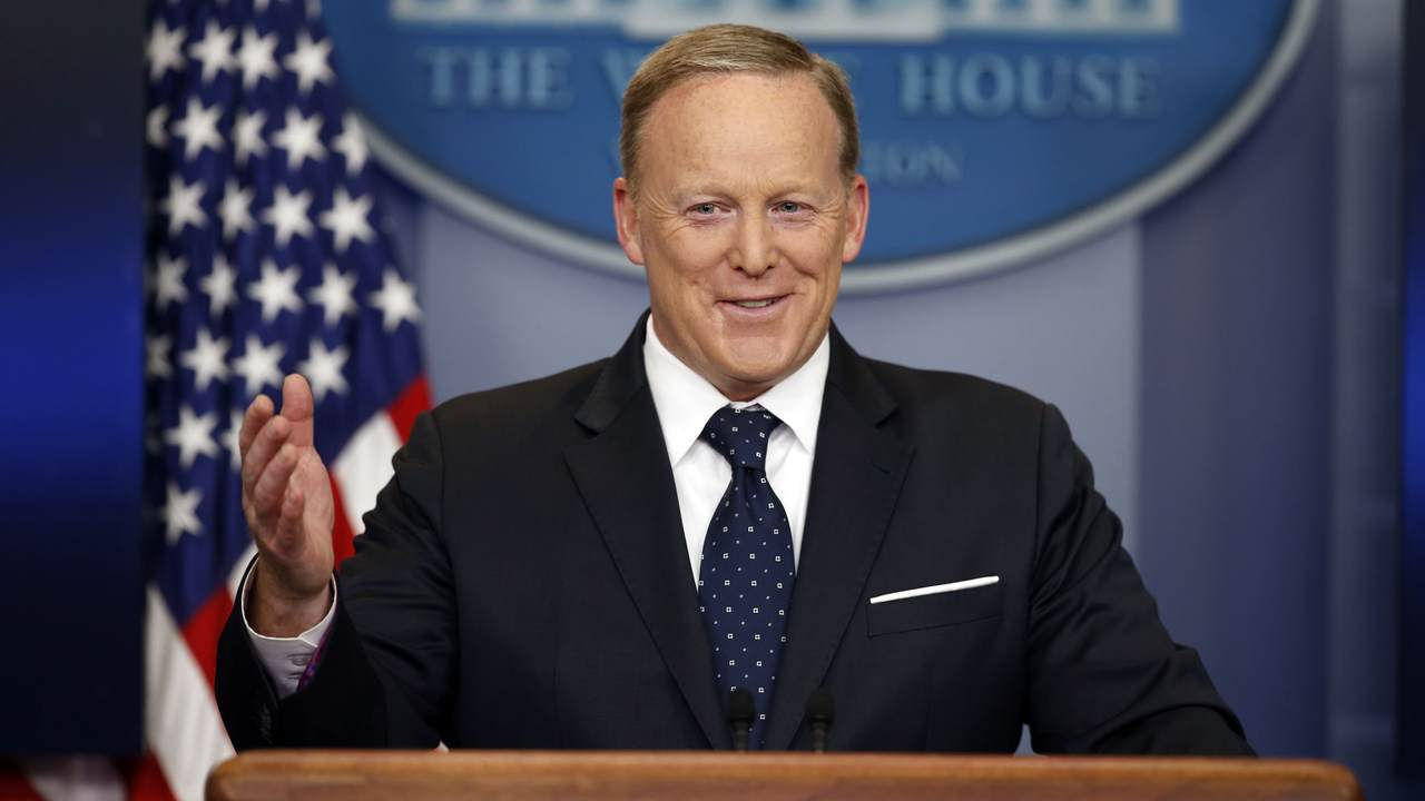 Annoy A Liberal, Vote For Sean Spicer