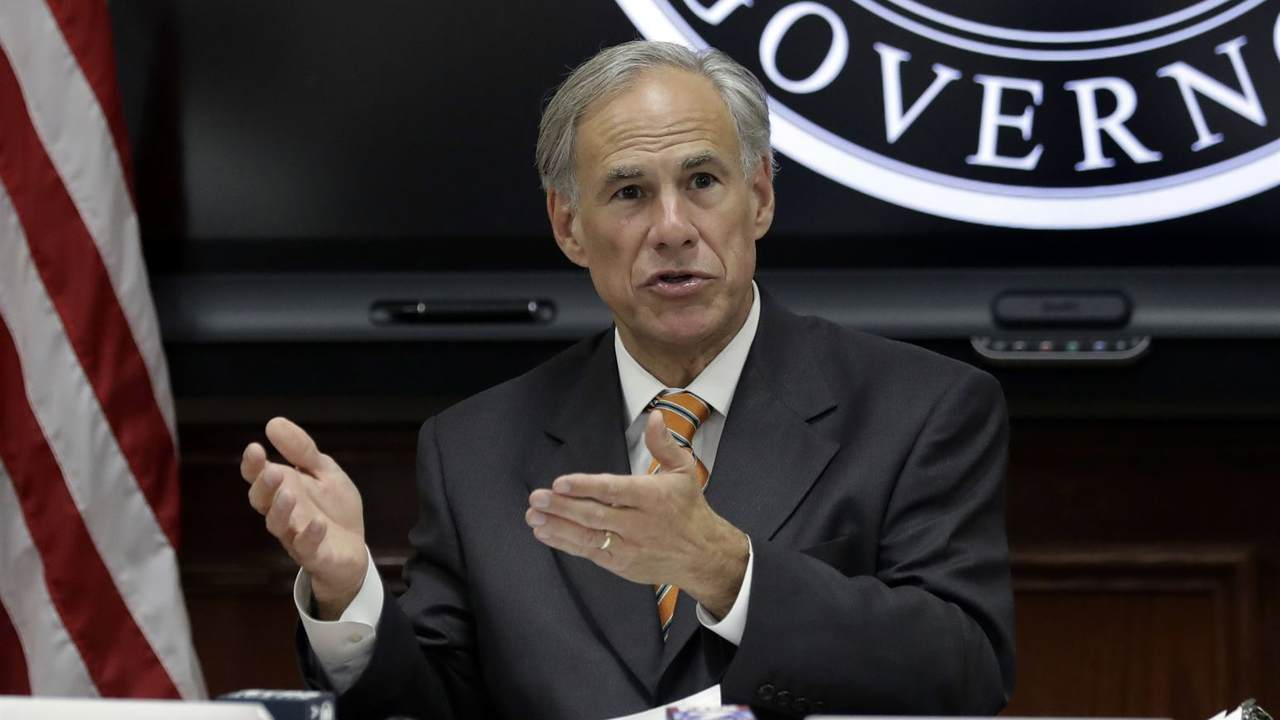 Gov. Abbott Fires Back After Joe Biden's 'Neanderthal' Comment for Reopening Texas