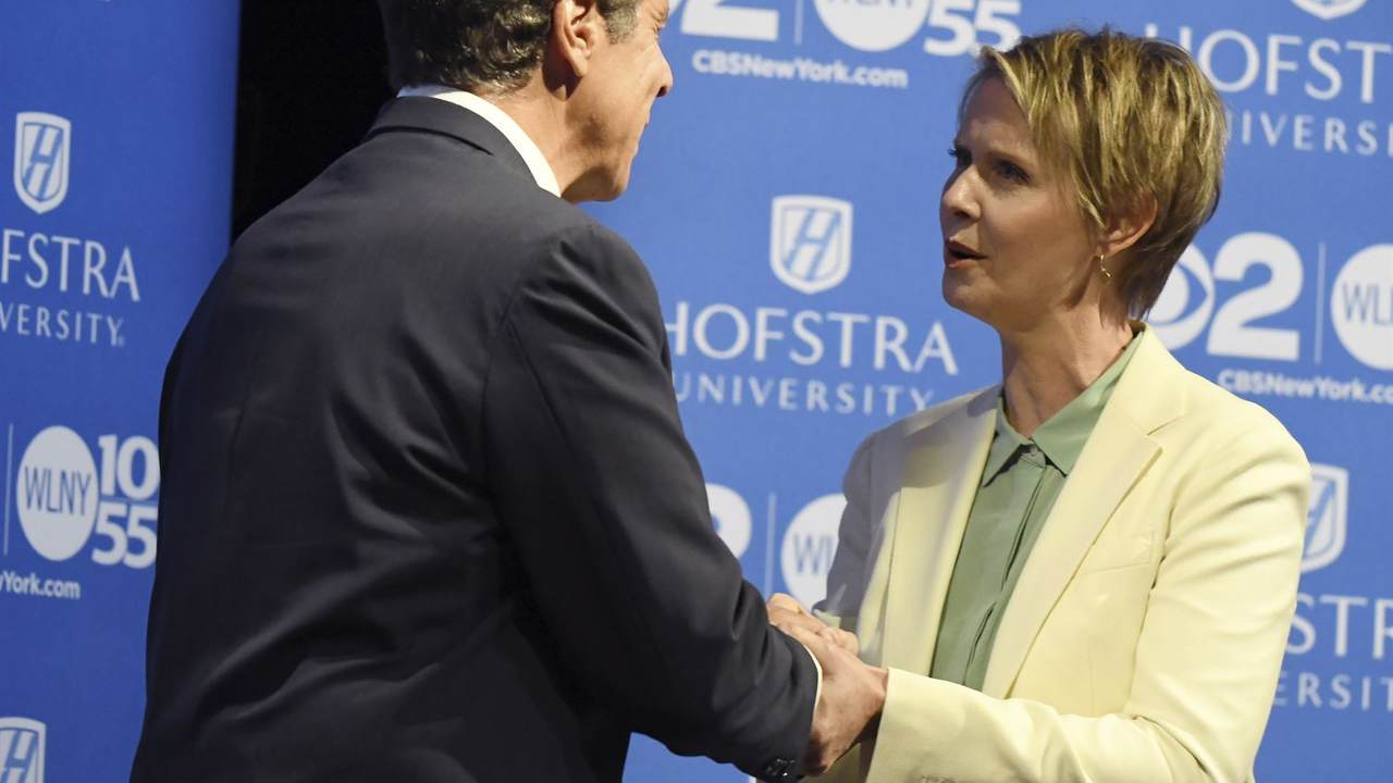Former NY Gov Candidate Cynthia Nixon Explains Where She 'Faults' Cuomo on COVID