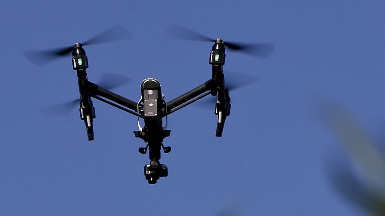 Creepy Drone in NYC Lectures Residents About Social Distancing