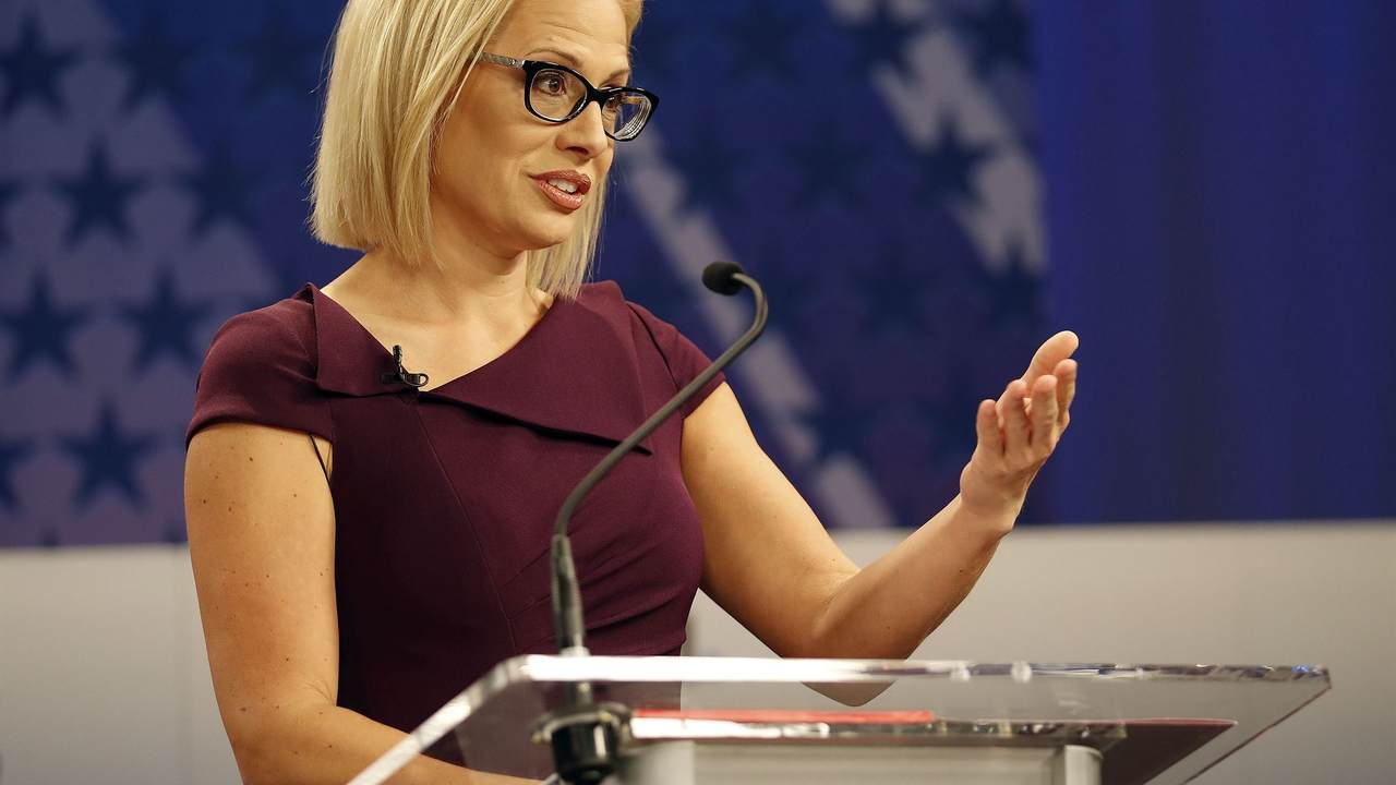 az sen  democrat kyrsten sinema u0026 39 s senate bid has become a