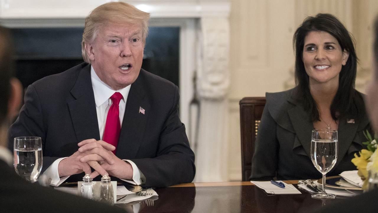 UN Ambassador Nikki Haley on Trump Tweets: 'It makes it interesting'