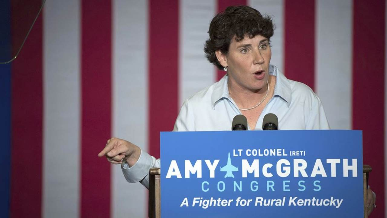 McConnell Opponent 'Social Distancing' By Filming Campaign Ad in Her Home