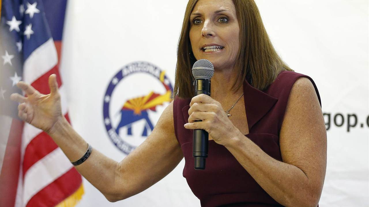 Chatter: Martha McSally Could Still Represent Arizona In The Senate­...Here's What Needs To Happen