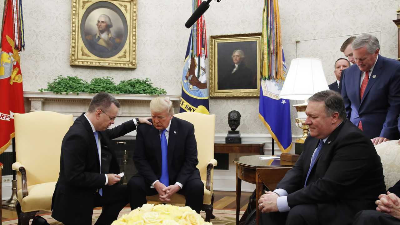 Pastor Brunson: 'There's No Question God Used President Trump' for My Release