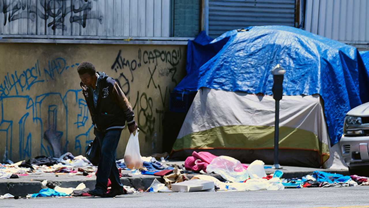 Why Are Californians Miserable? Four Words: Needles, Poop, Fire, And Hobos