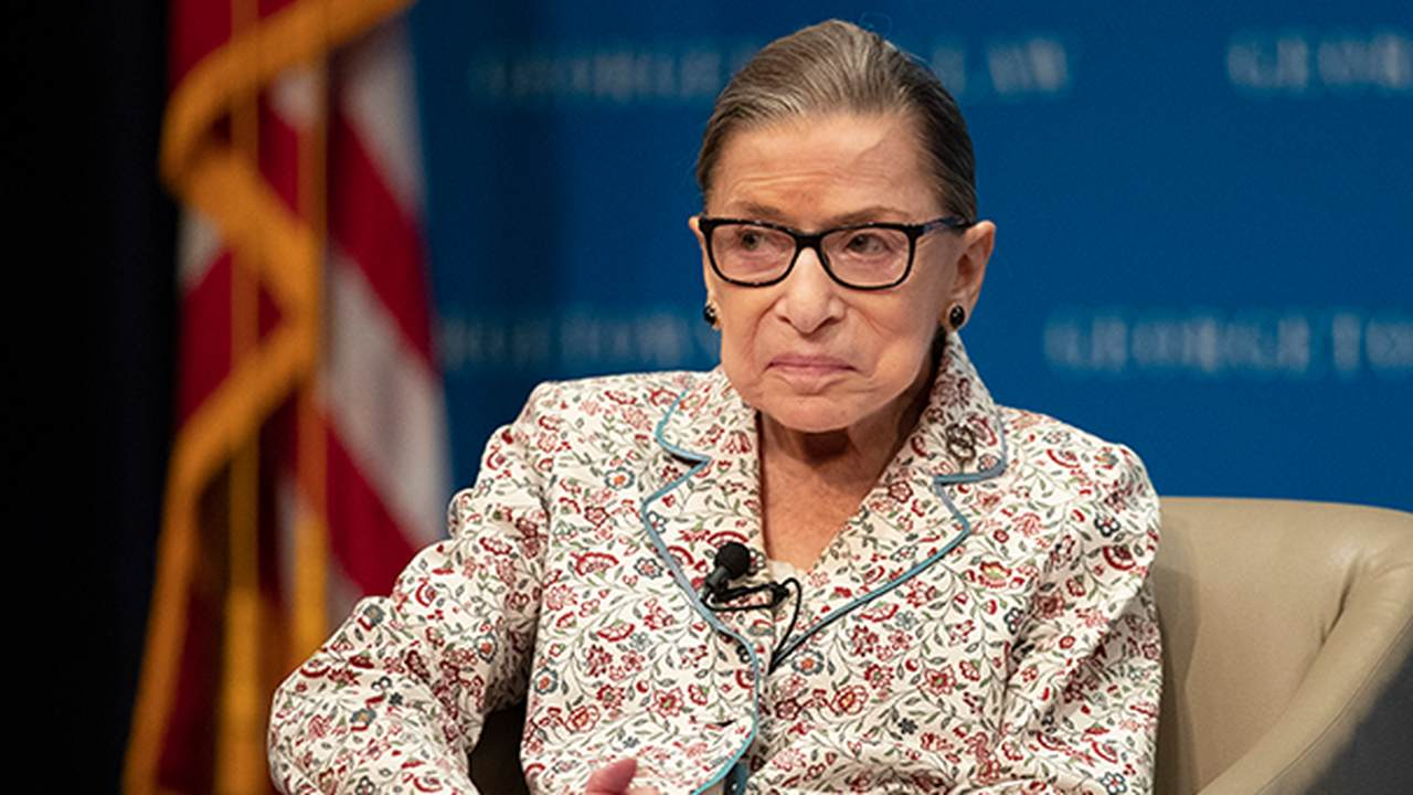 Flashback: Here's What RBG Had to Say About Kneeling Protesters