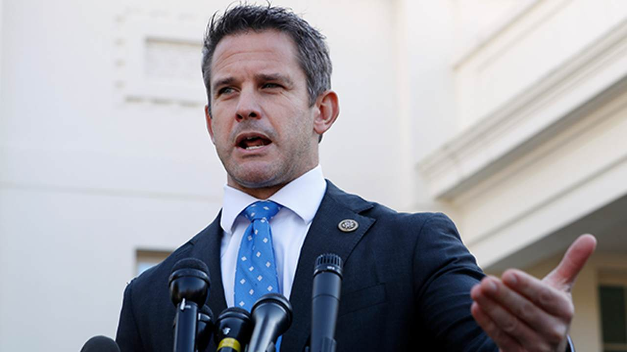 WATCH: Rep. Kinzinger Pats Himself on the Back for Standing Up to Trump