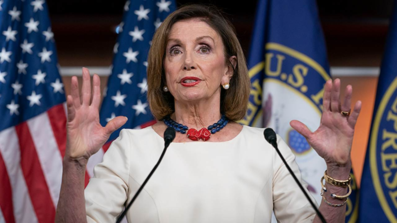 Instead of Celebrating ISIS Leader's Death, Pelosi Uses The Opportunity to Chide Trump