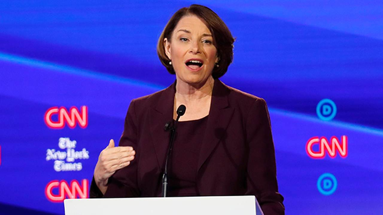 Amy Klobuchar Charges Trump Supporters of Failing a 'Patriotism Check'