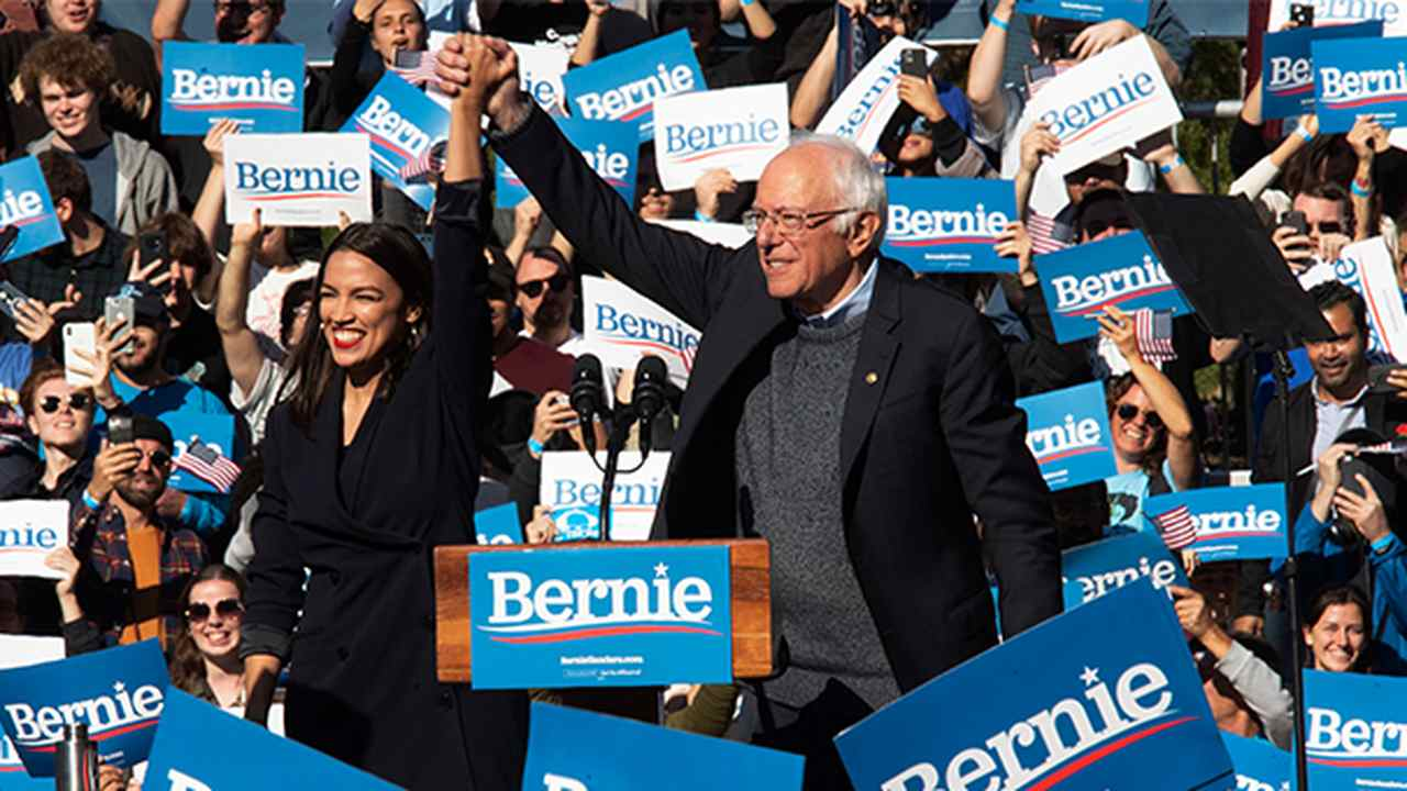 Sanders Tells Squad They Must Ensure Biden Becomes 'Most Progressive President Since FDR'