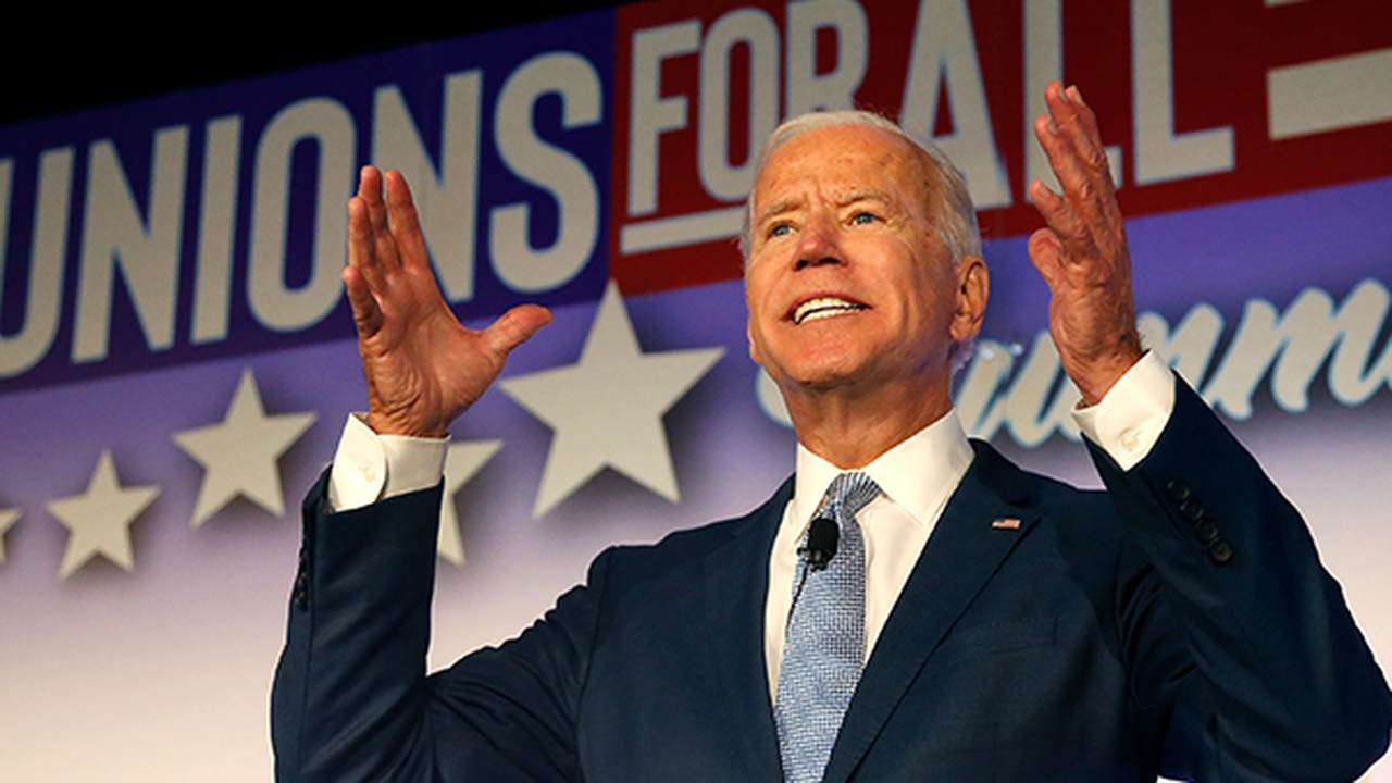 Why Everyone Is Talking About That Bizarre 2017 Clip of Joe Biden