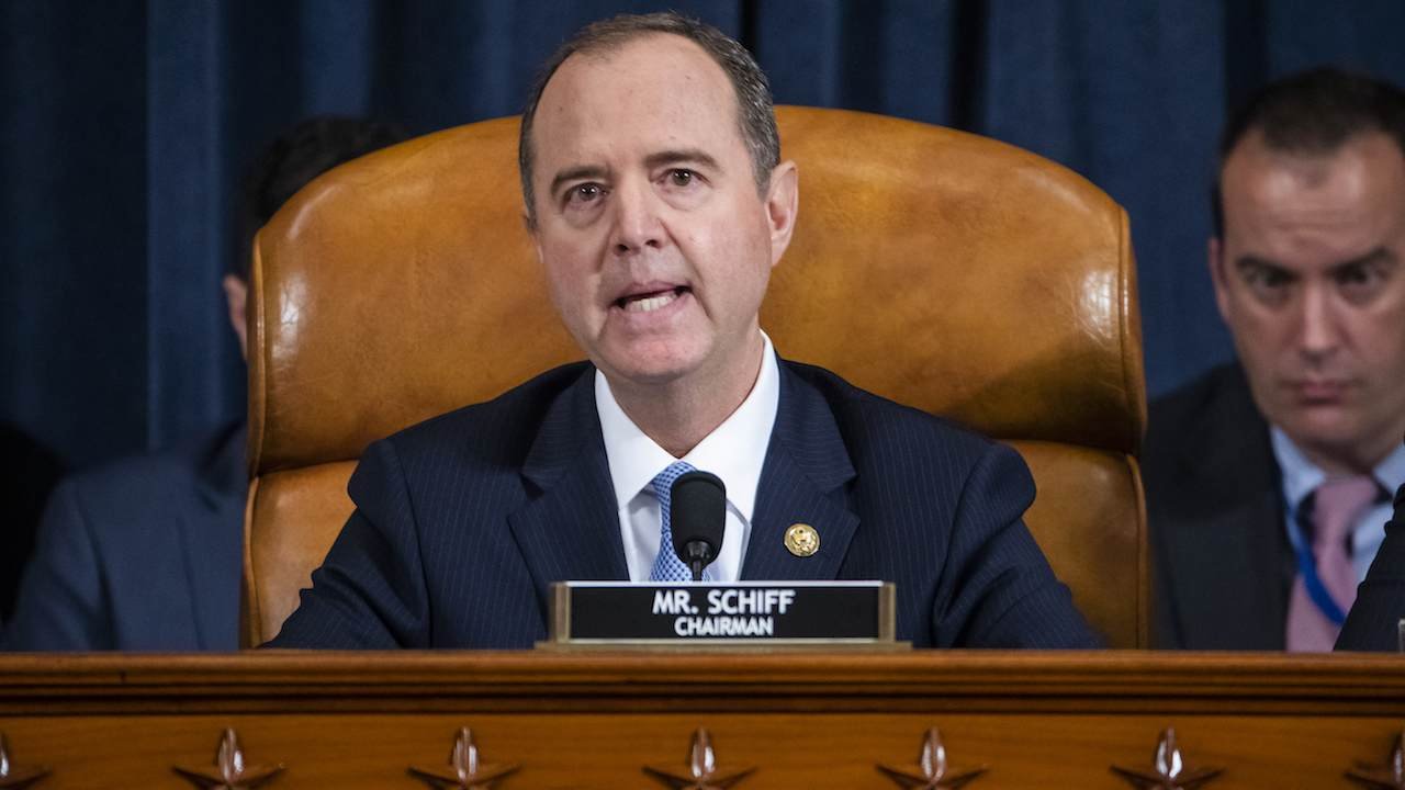 Media Pours on the Extra Drama for Schiff's Impeachment Hearing