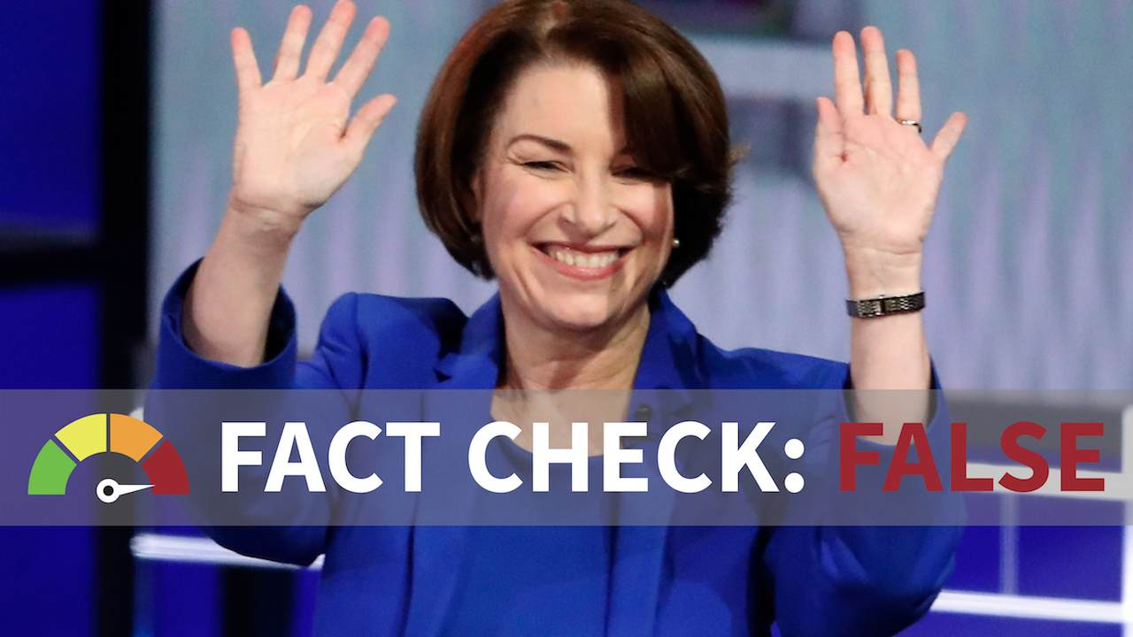 Fact Check: Is Klobuchar Right That Americans Overwhelmingly Support Roe, Planned Parenthood Funding?