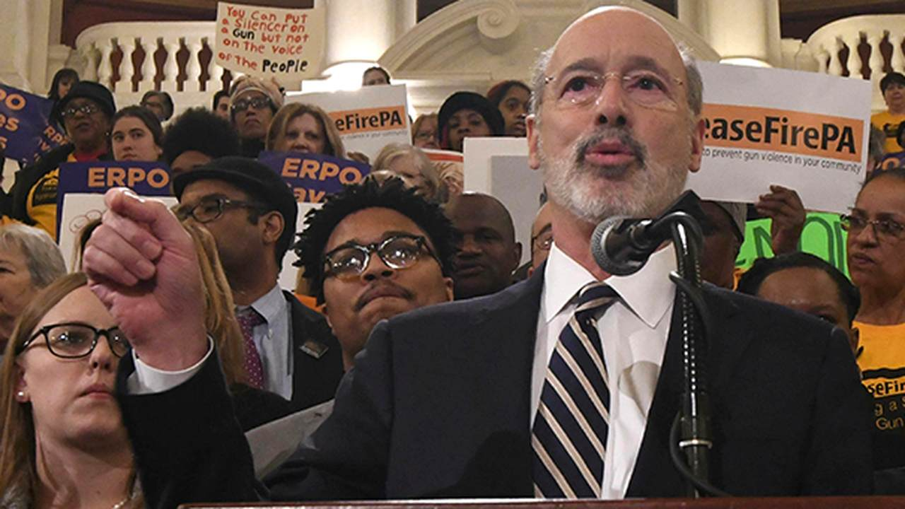 Pennsylvanians Protest Gov. Wolf's Order at State Capitol