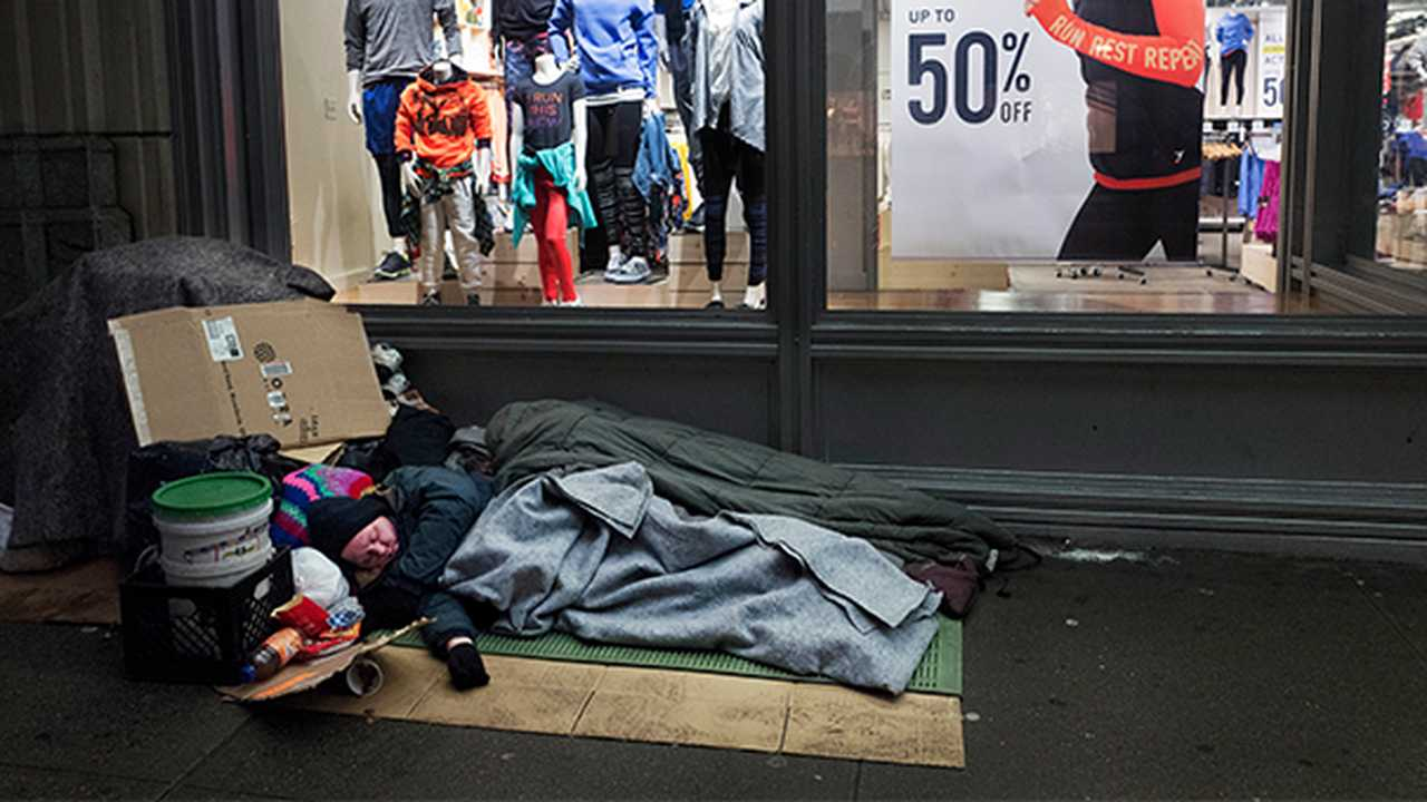 Report: Homelessness Soars to Record Heights in New York City