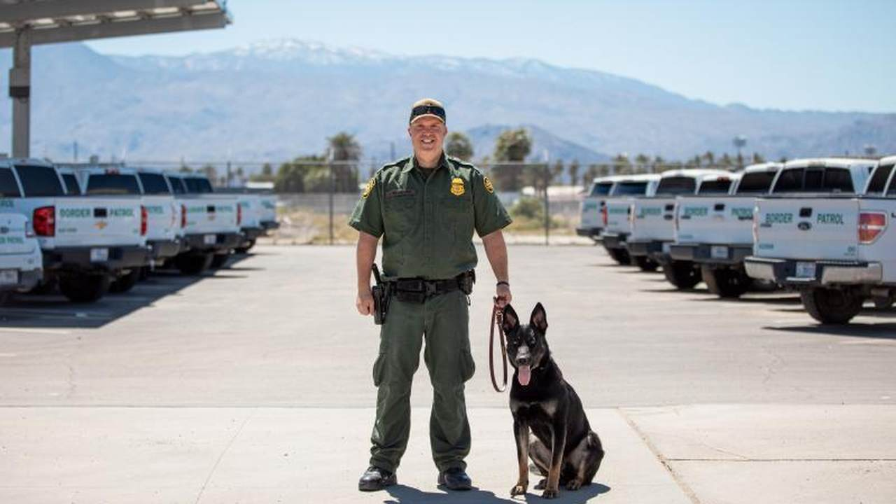 CBP Welcomes Three New K-9 Teams at El Centro Sector