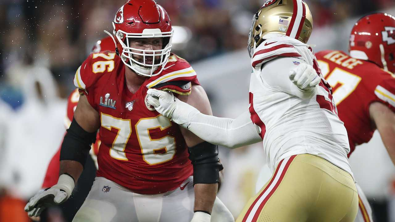 How This NFL Offensive Lineman Is Tackling Coronavirus in the Offseason...Literally