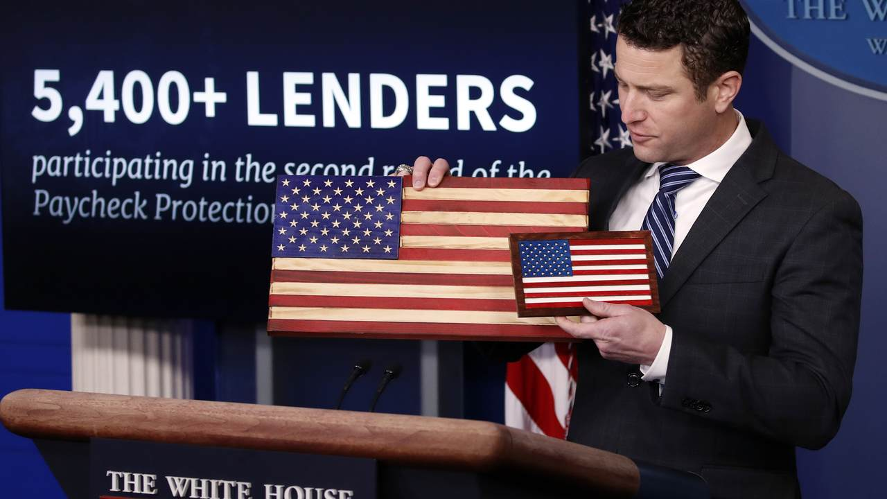 WATCH: Flags of Valor Co-founder Explains How the Paycheck Protection Program Saved His Business