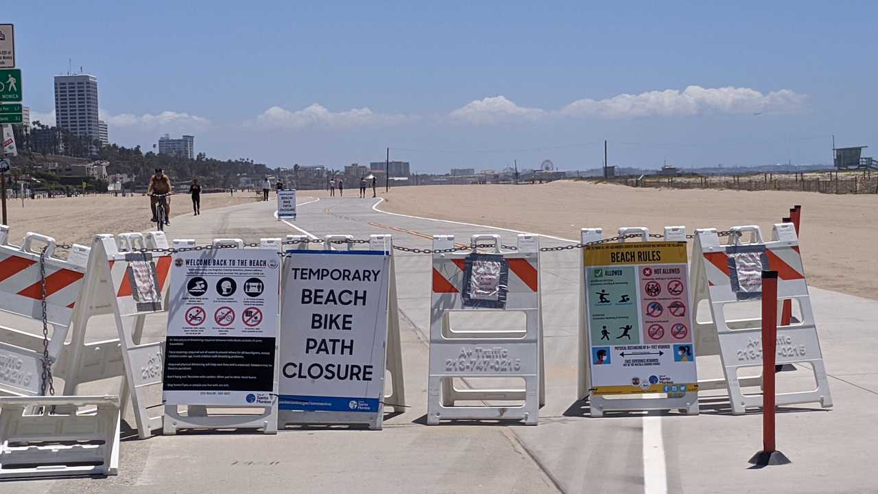 Los Angeles County Finally Reopens Beaches But People Are Limited in What They Can Do