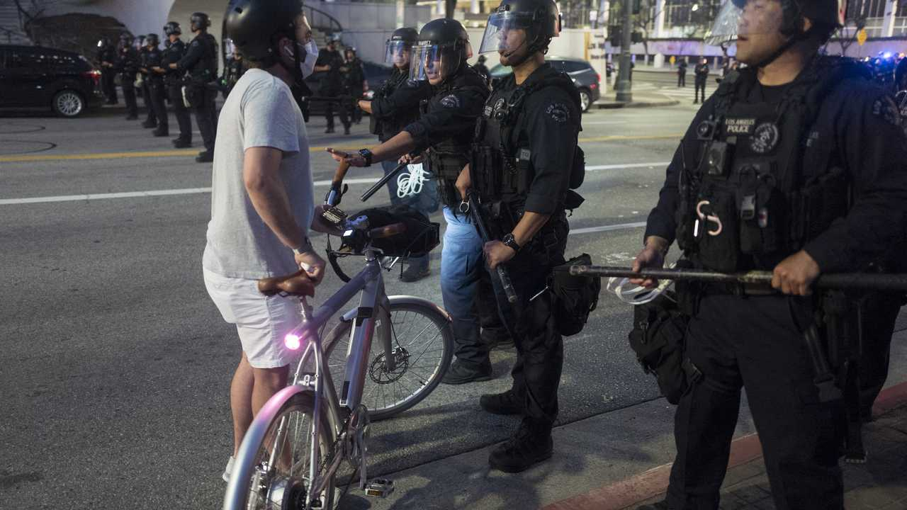 Department of Justice: Clashes with Police and Looting Continue on...