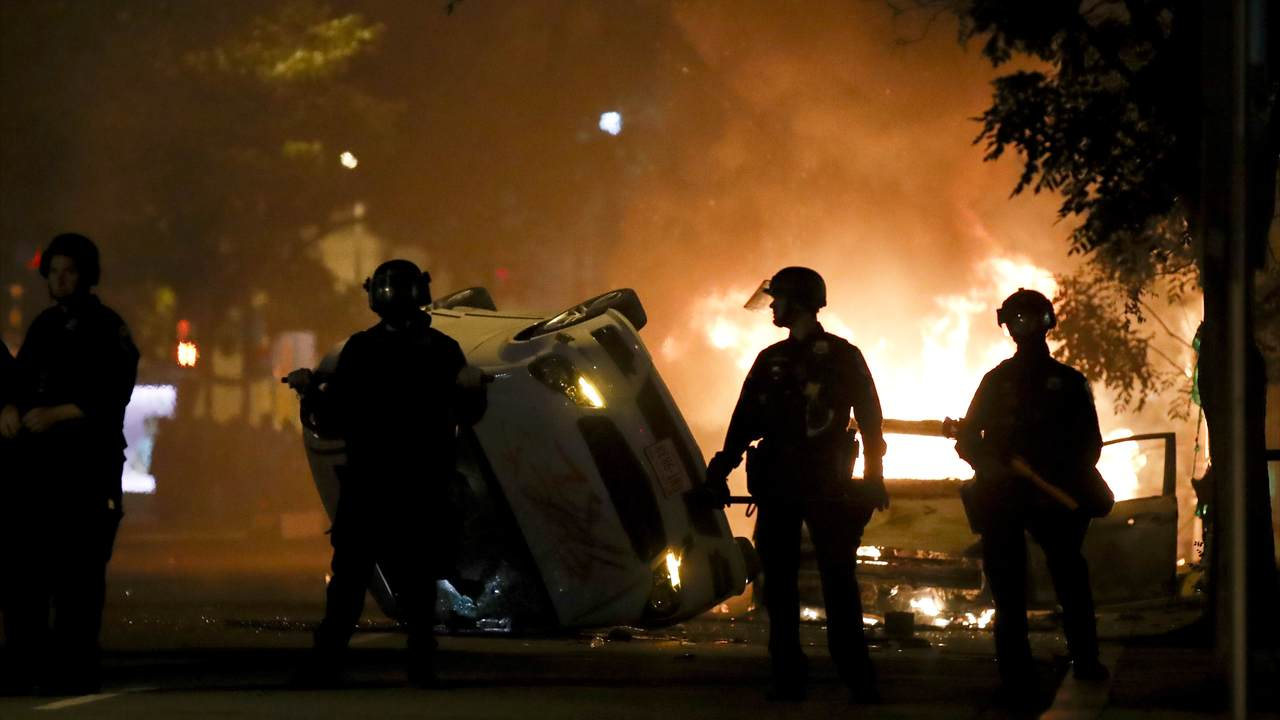 That 'White Nationalists Causing George Floyd Riot Chaos' Talking Point Took Another Devastating Blow