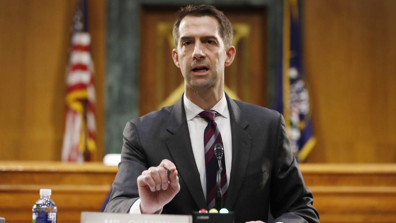 On Immigration, Sen. Tom Cotton Has Concerns with Two of Biden's Potential Cabinet Picks