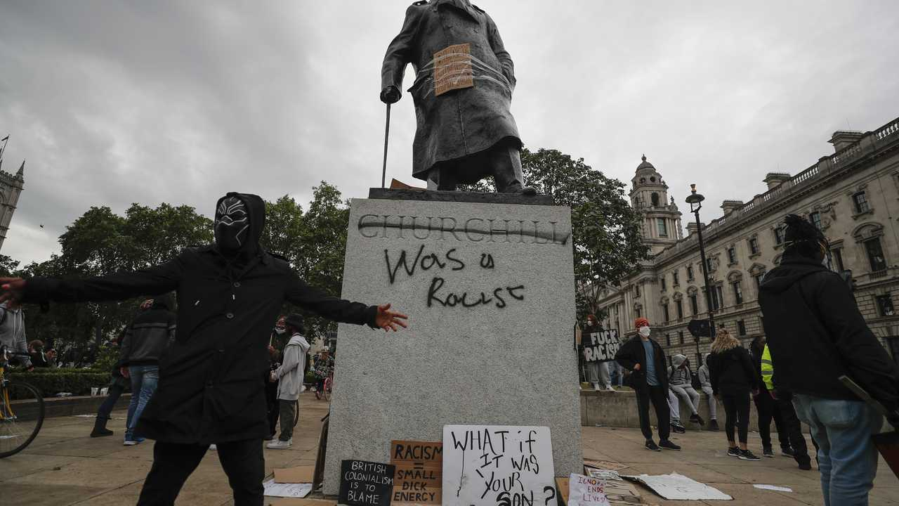 British MP Had a Spot-on Retort for Rioters Who Vandalized Churchill Statue