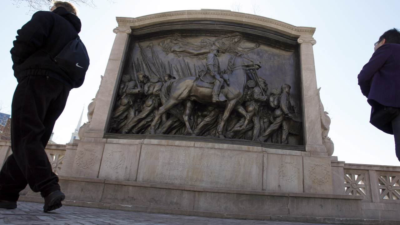 The Especially Tragic Case of Boston's Vandalized Shaw Memorial