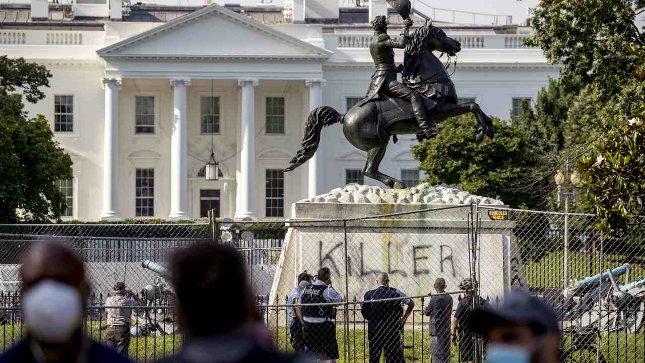 BLM Protesters Quote Cop-Killer Assata Shakur During White House Protest