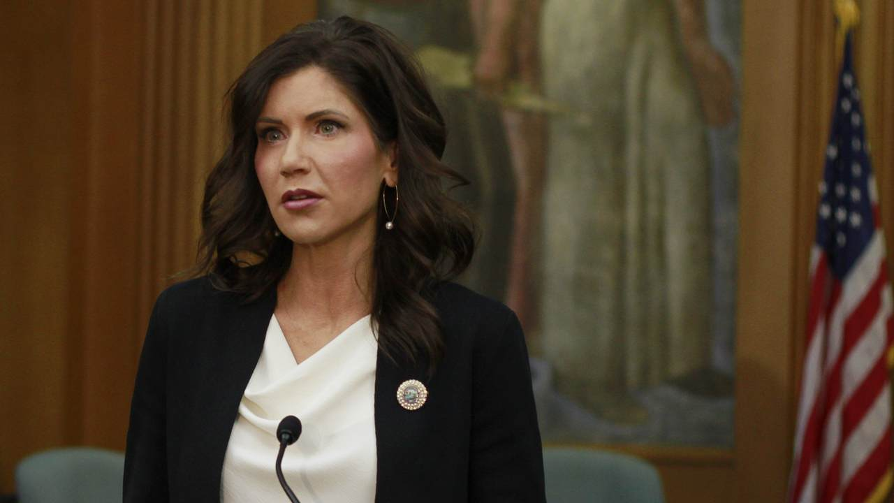 Gov. Noem Slams and Fact-Checks Another 'Misleading' Report About Her State's COVID Status