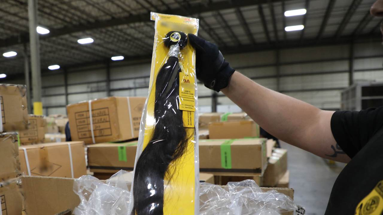 CBP Intercepts Chinese Products Made from Suspected Human Hair, Forced Labor
