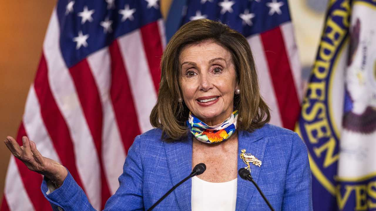 Nancy Pelosi: It's Great Joe Biden Is Not Traveling to Milwaukee to Accept the Nomination
