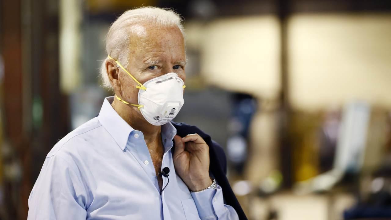 Biden Questions Safety of Eventual Coronavirus Vaccine