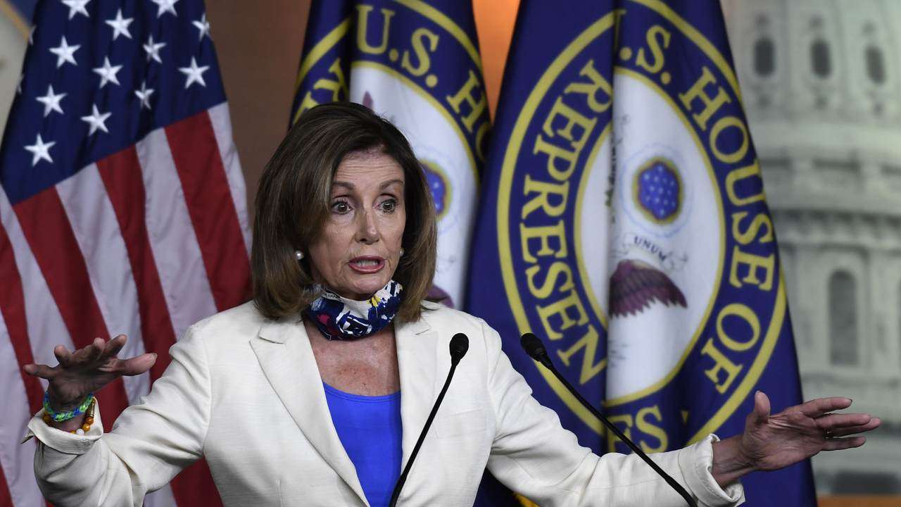 Nancy Pelosi Says the Coronavirus Has Made Voting by Mail a 'Health Issue'