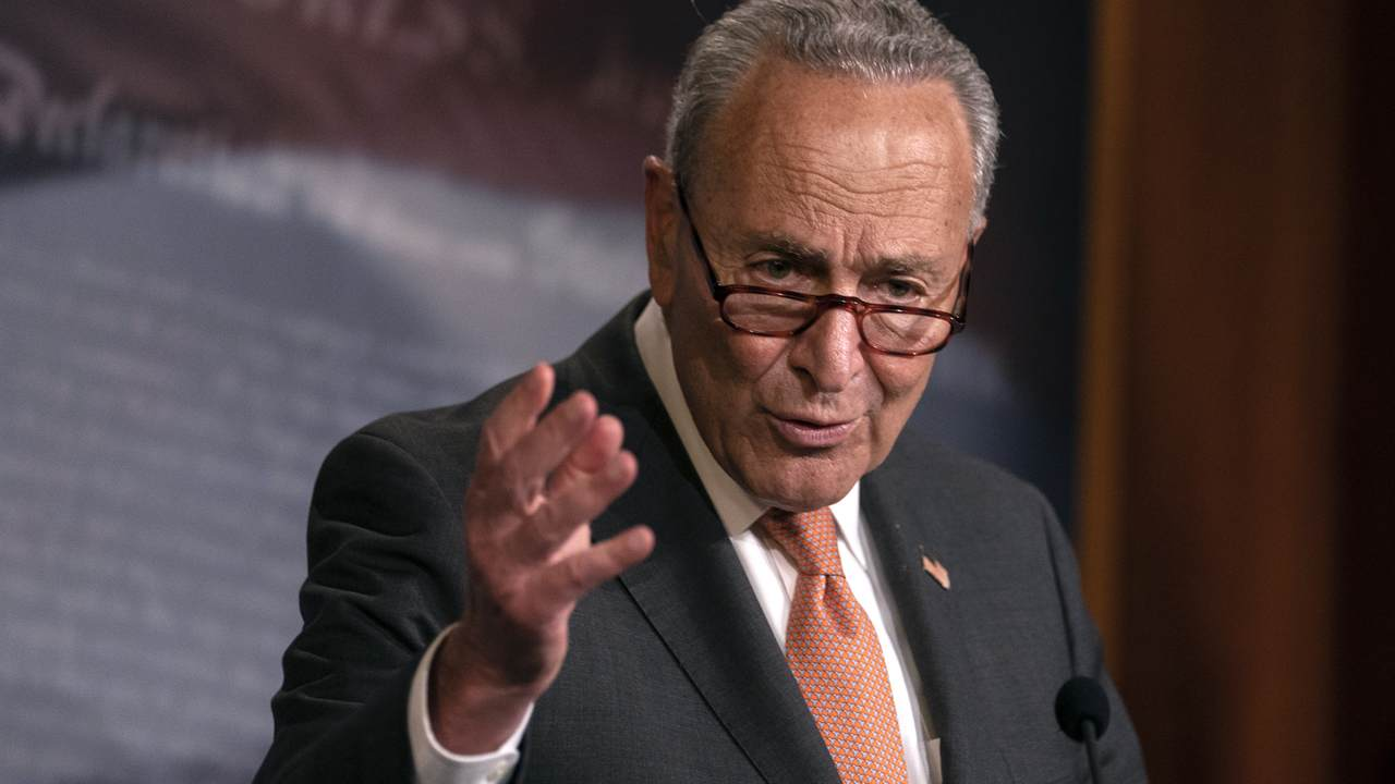 Watch: Sen. Schumer Flip-Flops on Senate's Remote Procedure