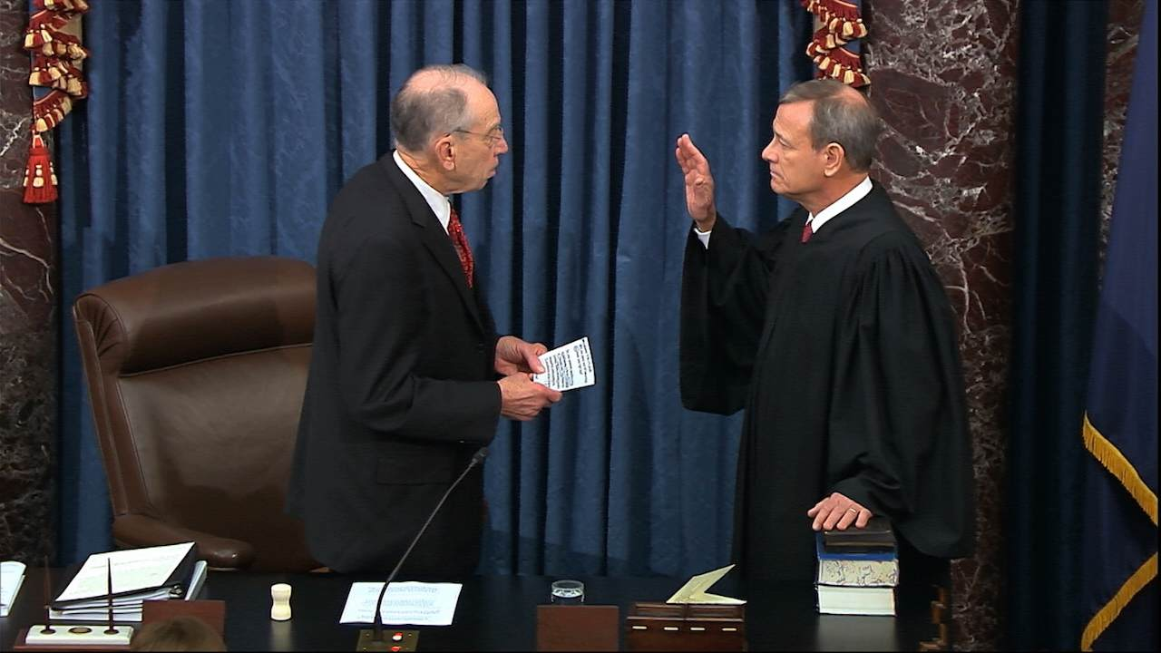 If John Roberts Doesn't Preside Over Trump Impeachment Trial, Here's Who Could Preside Over the Trial