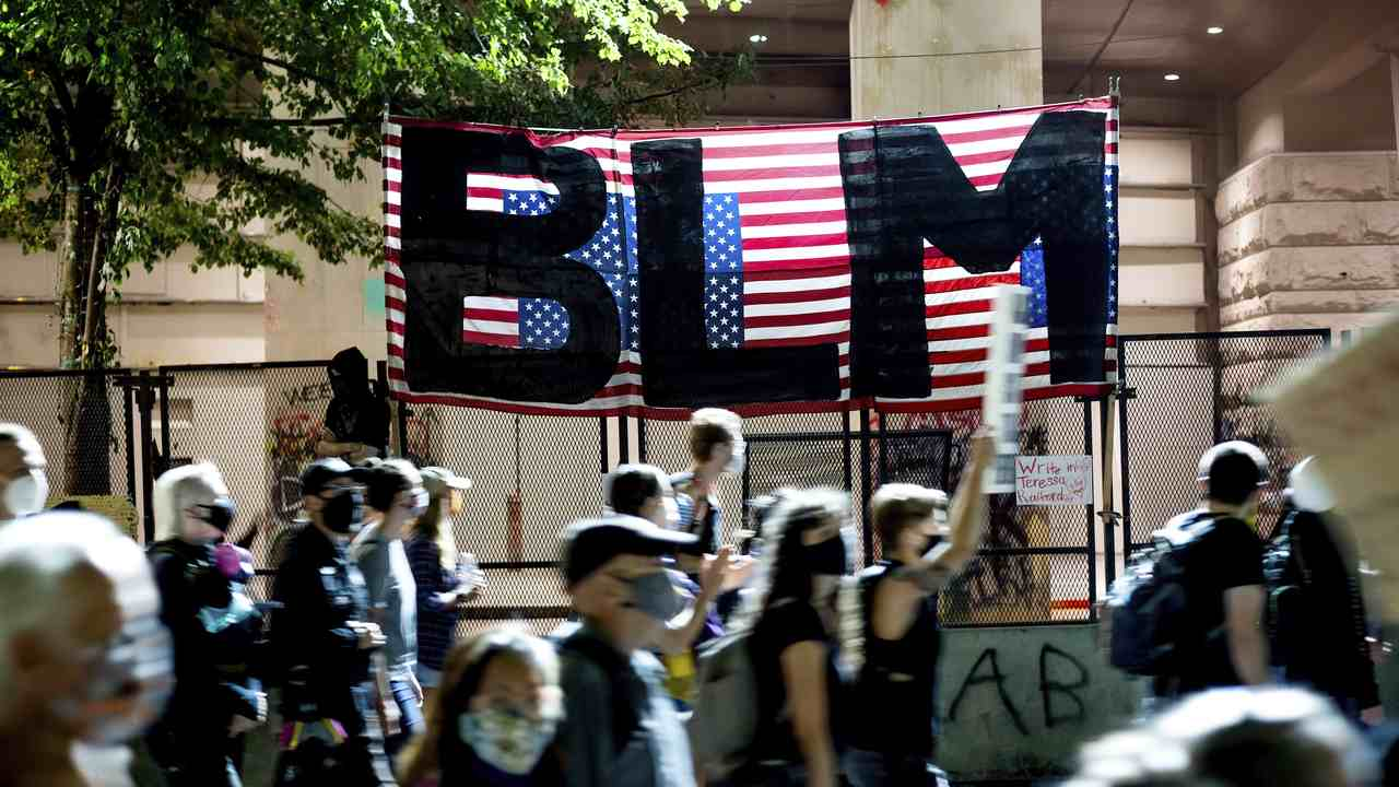 BLM Quietly Erases Radical Section of Its Website