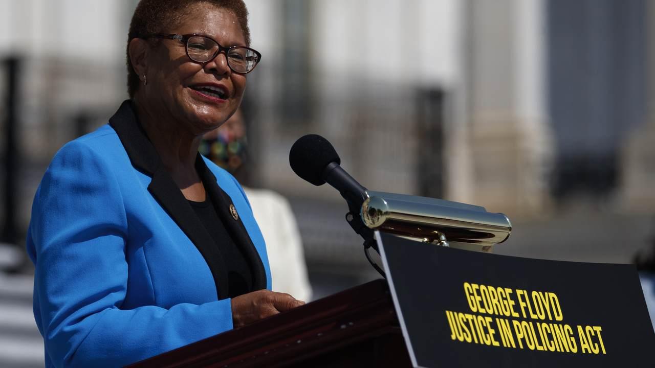 Rep. Karen Bass: California's Lockdowns and Curfews Are Adhering to 'Scientific Guidance'