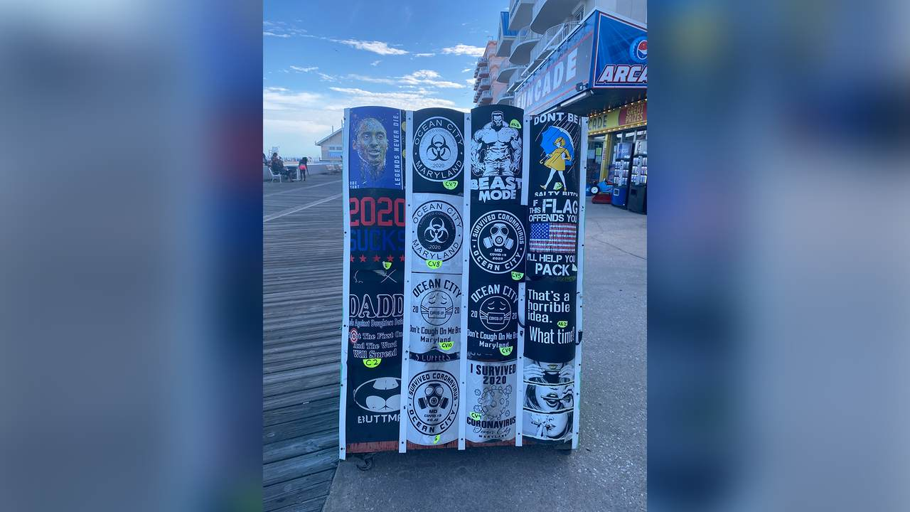 What Popular Boardwalk T-Shirts Tell Us About the Political Moment