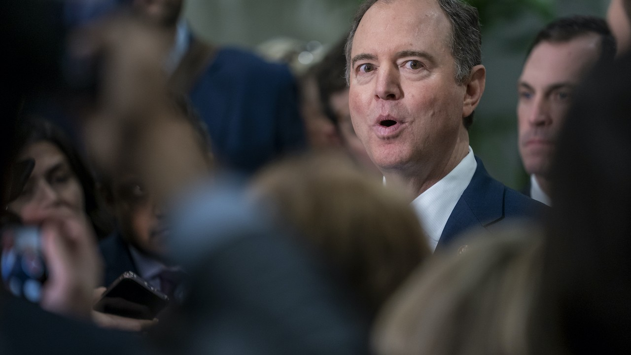 Grenell's Power Play Leaves Adam Schiff Worried for His Career