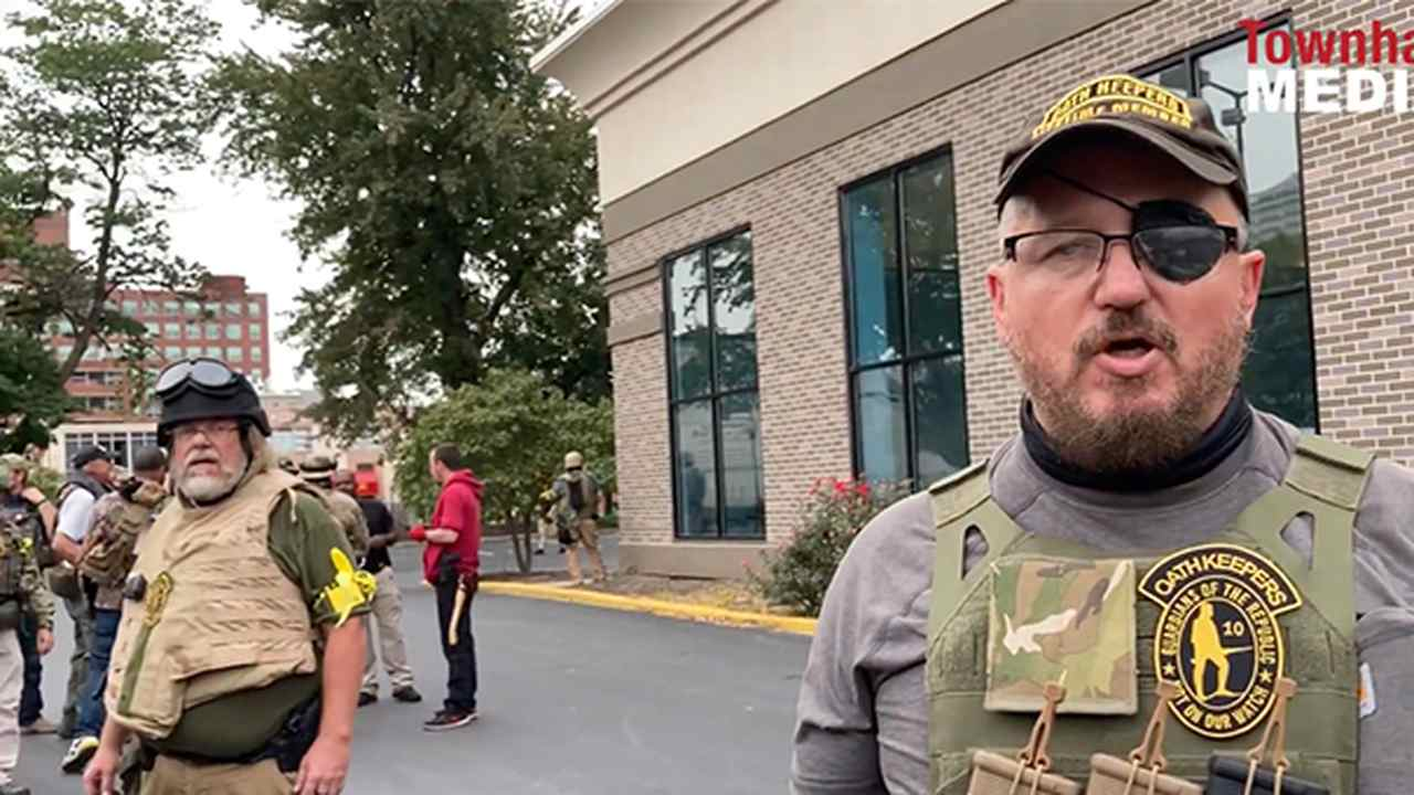 Oath Keepers Militia Explain Why They Were Armed in Downtown Louisville