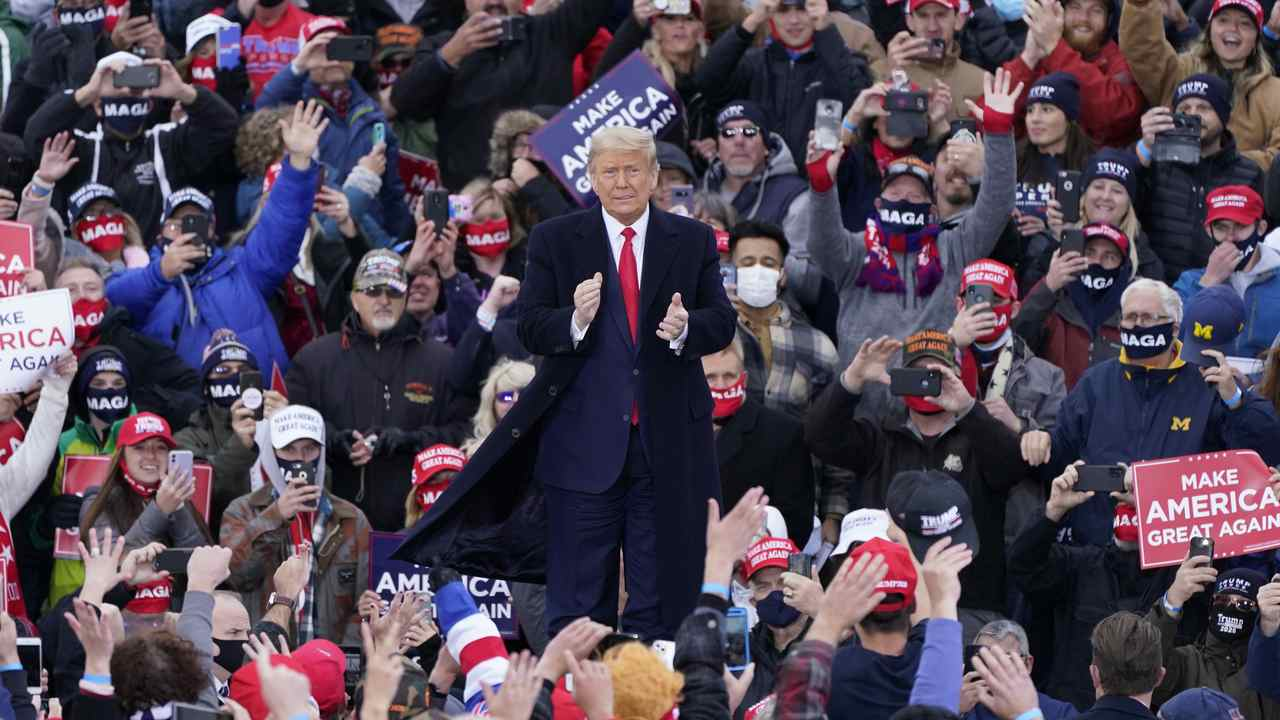 Pollster: We Believe Trump Is in a Strong Position to Win Re-Election